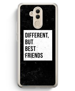 Huawei Mate 20 Lite Hardcase Hülle - Different But Best Friends