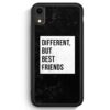 iPhone XR Silikon Hülle - Different But Best Friends