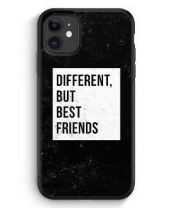 iPhone 11 Silikon Hülle - Different But Best Friends