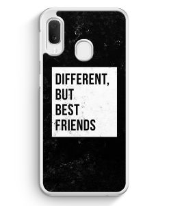 Samsung Galaxy A20e Hardcase Hülle - Different But Best Friends