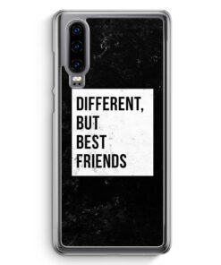 Huawei P30 Hardcase Hülle - Different But Best Friends