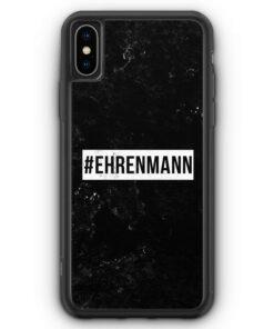 iPhone XS Max Silikon Hülle - #Ehrenmann