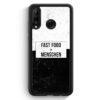 Huawei P30 Lite Silikon Hülle - Fastfood > Menschen