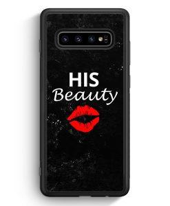 Samsung Galaxy S10 Silikon Hülle - His Beauty #02