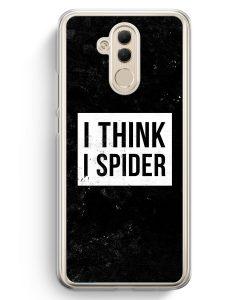 Huawei Mate 20 Lite Hardcase Hülle - I Think I Spider