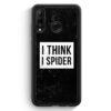 Huawei P30 Lite Silikon Hülle - I Think I Spider