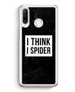 Huawei P30 Lite Hardcase Hülle - I Think I Spider