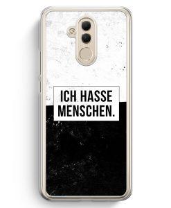 Huawei Mate 20 Lite Hardcase Hülle - Ich hasse Menschen