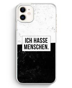 iPhone 11 Hardcase Hülle - Ich hasse Menschen