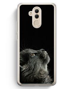 Huawei Mate 20 Lite Hardcase Hülle - Katze Himmel