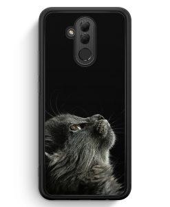 Huawei Mate 20 Lite Silikon Hülle - Katze Himmel