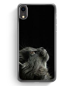 iPhone XR Hardcase Hülle - Katze Himmel