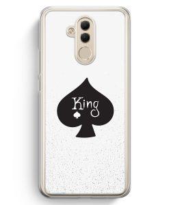 Huawei Mate 20 Lite Hardcase Hülle - King Spielkarten #01