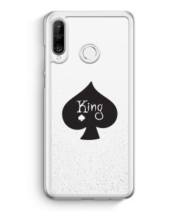 Huawei P30 Lite Hardcase Hülle - King Spielkarten #01