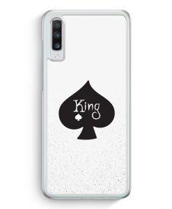 Samsung Galaxy A70 Hardcase Hülle - King Spielkarten #01