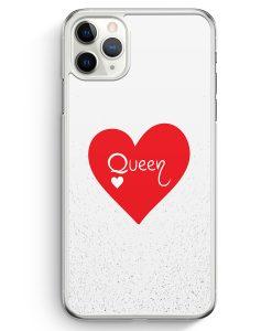 iPhone 11 Pro Hardcase Hülle - Queen Spielkarten #02