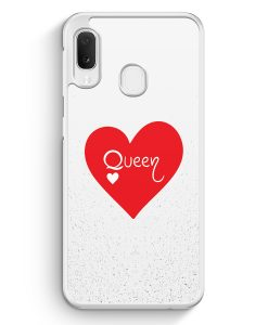 Samsung Galaxy A20e Hardcase Hülle - Queen Spielkarten #02