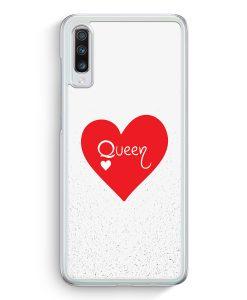 Samsung Galaxy A70 Hardcase Hülle - Queen Spielkarten #02