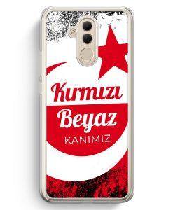 Huawei Mate 20 Lite Hardcase Hülle - Kirmizi Beyaz Kanimiz Türkei Türkiye