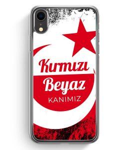 iPhone XR Hardcase Hülle - Kirmizi Beyaz Kanimiz Türkei Türkiye