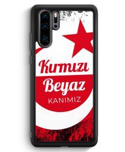 Huawei P30 Pro Silikon Hülle - Kirmizi Beyaz Kanimiz Türkei Türkiye