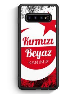 Samsung Galaxy S10e Silikon Hülle - Kirmizi Beyaz Kanimiz Türkei Türkiye