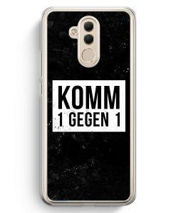 Huawei Mate 20 Lite Hardcase Hülle - Komm 1 Gegen 1