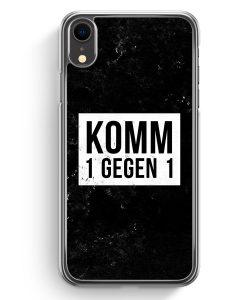 iPhone XR Hardcase Hülle - Komm 1 Gegen 1