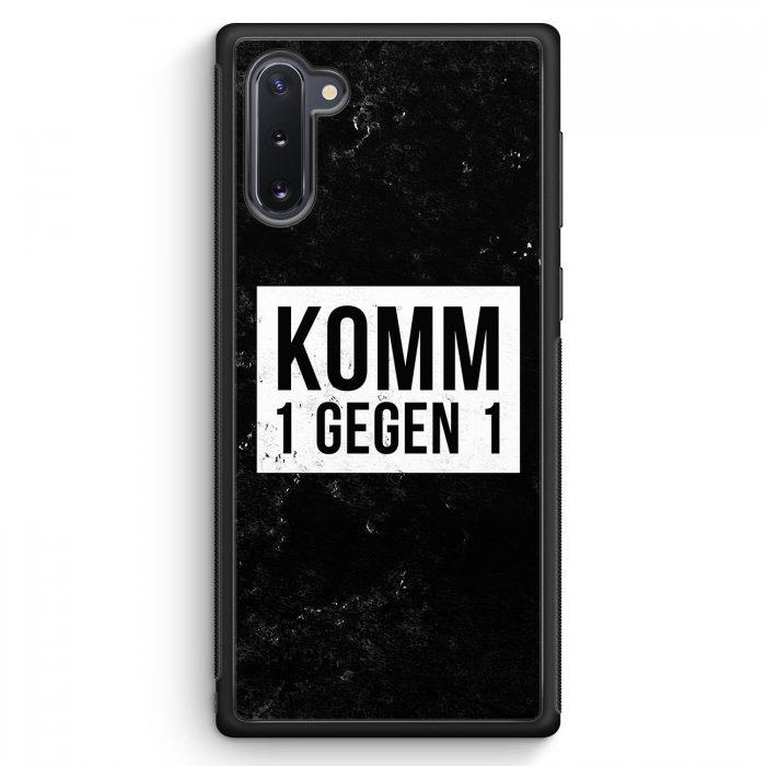 Samsung Galaxy Note 10 Silikon Hülle - Komm 1 Gegen 1