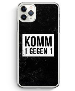 iPhone 11 Pro Max Hardcase Hülle - Komm 1 Gegen 1