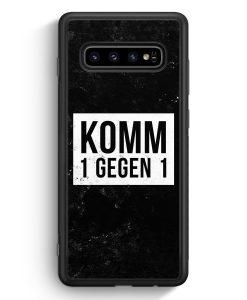 Samsung Galaxy S10 Silikon Hülle - Komm 1 Gegen 1
