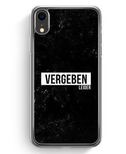 iPhone XR Hardcase Hülle - Vergeben