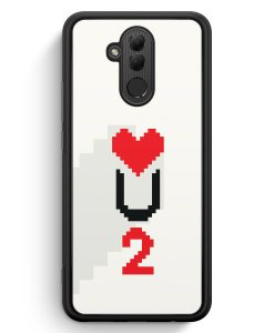 Huawei Mate 20 Lite Silikon Hülle - Love U2 #02 Pixel