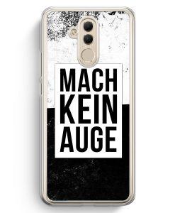 Huawei Mate 20 Lite Hardcase Hülle - Mach Kein Auge