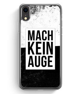 iPhone XR Hardcase Hülle - Mach Kein Auge