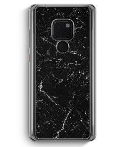 Huawei Mate 20 Hardcase Hülle - Marmor Marble Schwarz