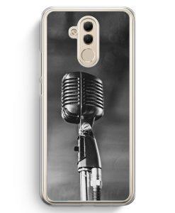 Huawei Mate 20 Lite Hardcase Hülle - Mikrofon Foto