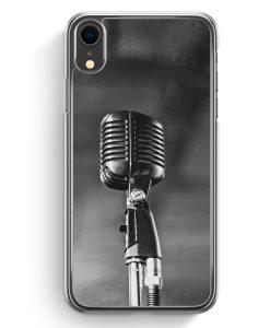 iPhone XR Hardcase Hülle - Mikrofon Foto