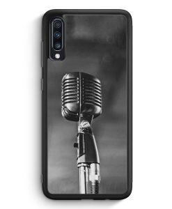 Samsung Galaxy A40 Silikon Hülle - Mikrofon Foto