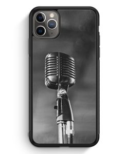 iPhone 11 Pro Max Silikon Hülle - Mikrofon Foto