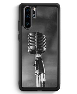 Huawei P30 Pro Silikon Hülle - Mikrofon Foto