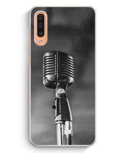 Samsung Galaxy A50 Hardcase Hülle - Mikrofon Foto