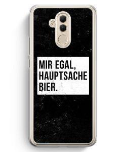 Huawei Mate 20 Lite Hardcase Hülle - Mir Egal Hauptsache Bier