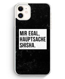 iPhone 11 Hardcase Hülle - Mir Egal Hauptsache Shisha