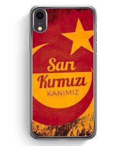 iPhone XR Hardcase Hülle - Sari Kirmizi Kanimiz Türkei Türkiye