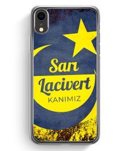 iPhone XR Hardcase Hülle - Sari Lacivert Kanimiz Türkei Türkiye