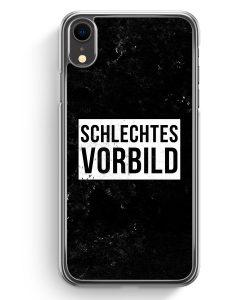 iPhone XR Hardcase Hülle - Schlechtes Vorbild