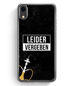 iPhone XR Hardcase Hülle - Leider Vergeben Shisha