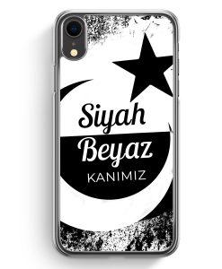 iPhone XR Hardcase Hülle - Siyah Beyaz Kanimiz Türkei Türkiye
