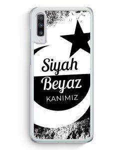 Samsung Galaxy A70 Hardcase Hülle - Siyah Beyaz Kanimiz Türkei Türkiye